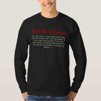 Back Dark Runner, total Of the land area that w… Shirt