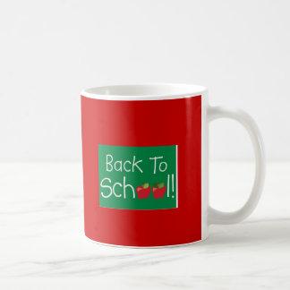 Back To School Basic White Mug