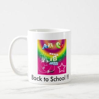Back to School !! Basic White Mug