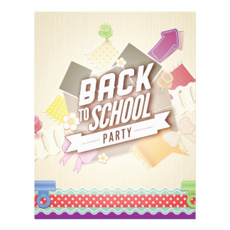 Back to School Party 21.5 Cm X 28 Cm Flyer