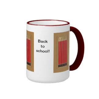 Back to school ringer mug