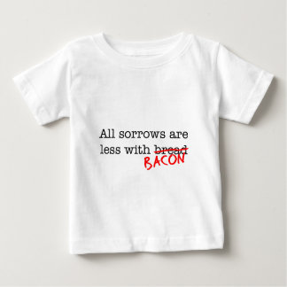 Bacon All Sorrows are Less T-shirts