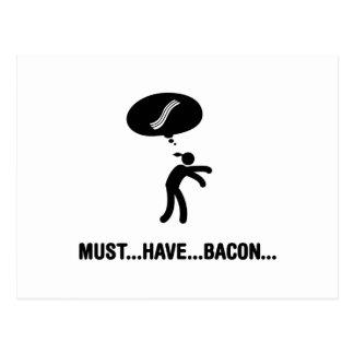 Bacon Lover Postcard