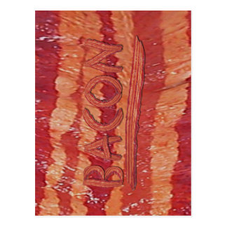 Bacon Lovers Gifts Postcard