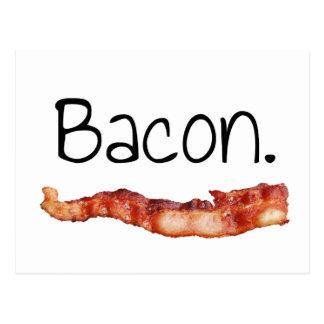 Bacon. Postcard