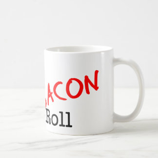 Bacon Sex Rock n Roll Basic White Mug