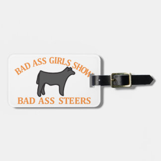 Bad Ass Girls Luggage Tags