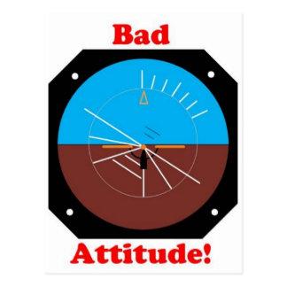 Bad Attitude Postcard