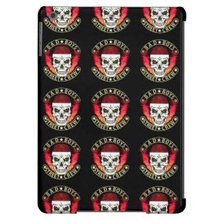 Bad Boys Street Crew Bandana Skull Black & Gold iPad Air Cover