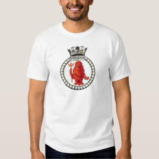 Badge f HMS Bermuda Tshirts