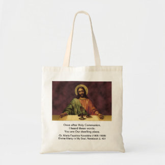 Bag: You Are Our Dwelling Place Budget Tote Bag