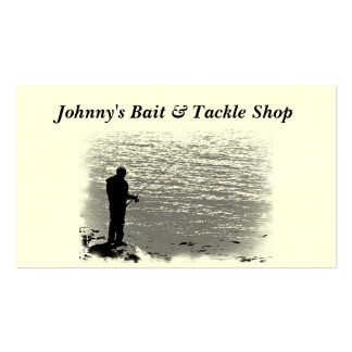 Bait and Tackle Shop Pack Of Standard Business Cards