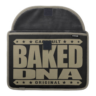BAKED DNA - Green Plant Engineered Super Genetics Sleeves For MacBooks