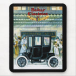 Baker Electric Cars - Vintage Ad Mouse Pad