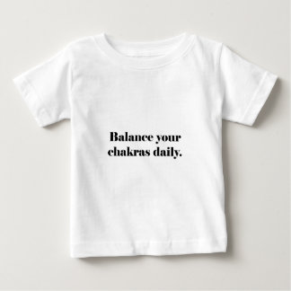 Balance Your Chakras (plain) Tee Shirts