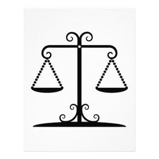 balanced scales 21.5 cm x 28 cm flyer