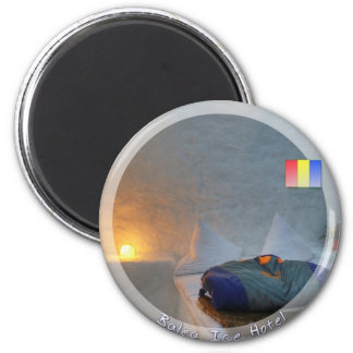 Balea Ice Hotel 6 Cm Round Magnet