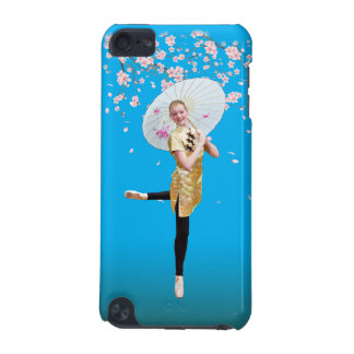 Ballerina and Cherry Blossoms iPod Touch 5G Covers
