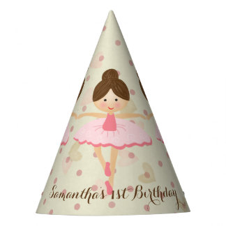 Ballerina Themed Party Party Hat