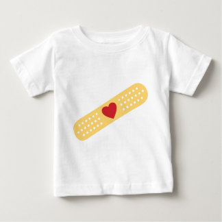 Band-Aid With A Red Heart Tees