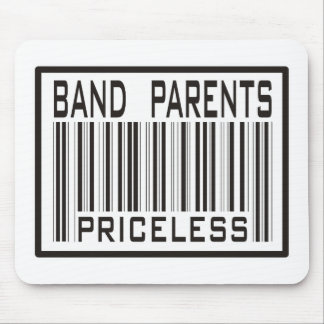 Band Parent Priceless Mouse Pad