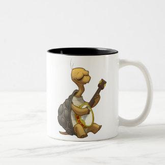Banjo-Strummin' Tortoise Mug