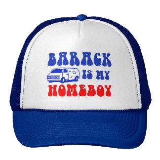 Barack Is My Homeboy Cap