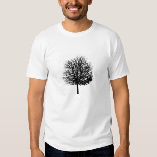 Bare Tree - Solitary Forest - Nature lover trees Shirt