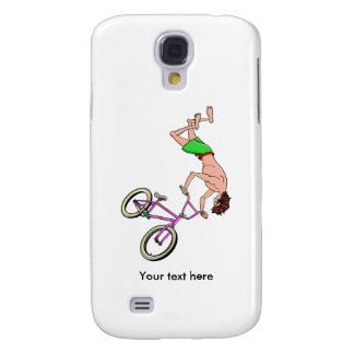 Barefoot BMX Ride Air Time Galaxy S4 Case