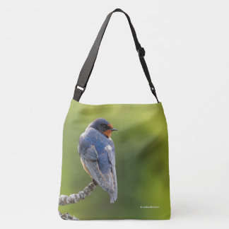 Barn Swallow on a Branch Tote Bag
