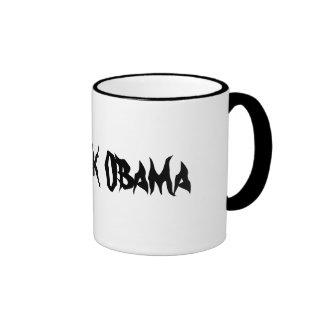 Barrack Obama Ringer Mug