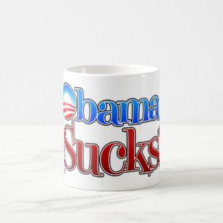 Barrack Obama Sucks Basic White Mug