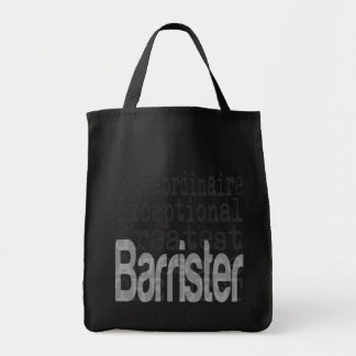 Barrister Extraordinaire Grocery Tote Bag