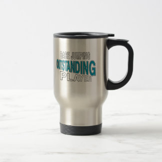 BASE JUMPING OUTSTANDING PLAYER STAINLESS STEEL TRAVEL MUG