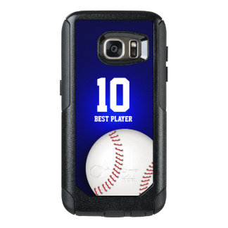 Baseball Best Player No | Sport Gifts OtterBox Samsung Galaxy S7 Case