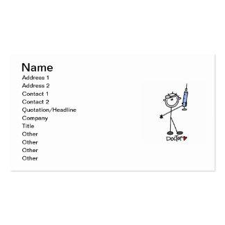 Basic Stick Figure Doctor Pack Of Standard Business Cards