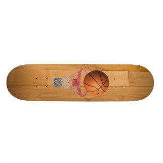 Basketball - 3D Effect 21.3 Cm Mini Skateboard Deck