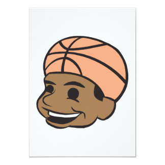 Basketball Fan 13 Cm X 18 Cm Invitation Card