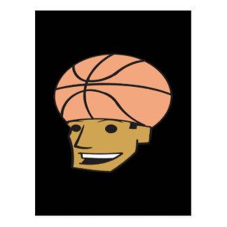 Basketball Fan Postcard