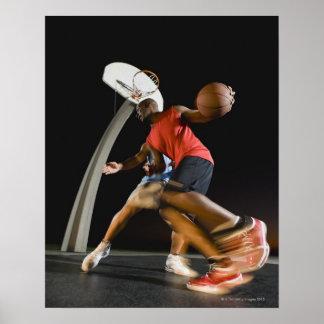 Basketball players 2 poster