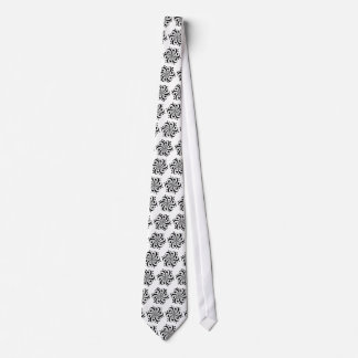 Bass and Treble Clef Swirl Tie