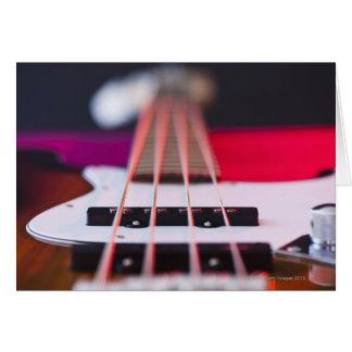 Bass Guitar 3 Greeting Card