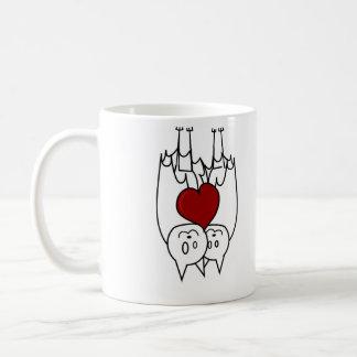 Bat Love Basic White Mug