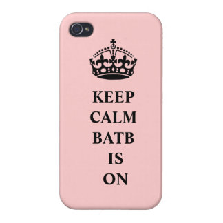 BATB Keep Calm iPhone Case Covers For iPhone 4
