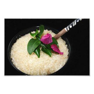 Bath Salts at a Spa or Beauty Salon Art Photo
