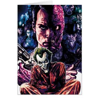 Batman - Arkham Unhinged #11 Cover Greeting Card