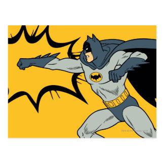 Batman Punch Postcard