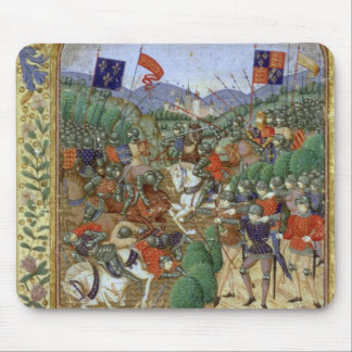 Battle of Agincourt, October 25th 1415 (w/c on pap Mouse Pad