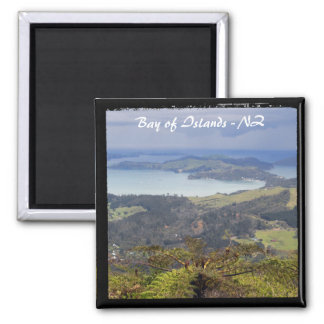 Bay of Islands, New Zealand 2 (Fridge Magnet) Square Magnet