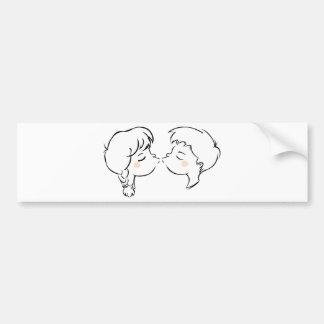 Be my Valentine Bumper Sticker
